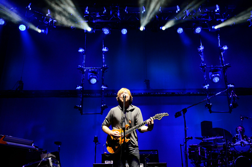 Description of . Erica Miller @togianphotog - The Saratogian:    On Thursday July 3rd 2014, Saratoga Springs was packed with thousands of Phish fans for their first of three concert nights at SPAC. Media was in the pit to capture the first 15 minutes of their first concert in Saratoga this weekend.