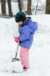 "Erica Miller @togianphotog - The Saratogian:  After a evening of snow fall the students at the Waldorf School on Lake Ave enjoyed playing in the snow. Emerson Gilman chipped away making ""Potatoes"" with the snow bundled up with snow gear."