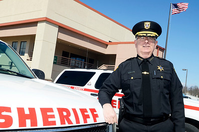 Erica Miller @togianphotog - The Saratogian:   At the Saratoga County Sheriff's Department in Ballston Spa, Sheriff Michael Zurlo updated The Saratogian on Wednesday morning his progress since he has been in office.