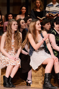 Erica Miller @togianphotog - The Saratogian:   The Saratoga Spring High School held a dress rehearsal for their upcoming play Footloose.