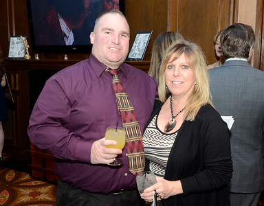 Ed Burke - The Saratogian 03/22/14 Supporters Lisa and Dan Shepard of Colonie attend Saturday's Treasure Island Birthday Bash fundraiser for the Children's Museum at Saratoga National Golf Club.