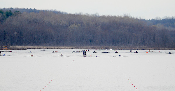 Erica Miller @togianphotog - The Saratogian:    On Saturday April 26th, 2014, on Saratoga Lake, Saratoga Rowing Association held the Saratoga Invitational