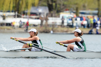 Erica Miller @togianphotog - The Saratogian:    On Saturday April 26th, 2014, on Saratoga Lake, Saratoga Rowing Association held the Saratoga Invitational as Shenendehowa made it through on the 38th race Women's Varisty 8+.