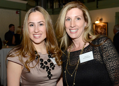 Ed Burke - The Saratogian 04/03/14 Models Tristina McDonald, left, and Julie Davis were serving as ambassadors during the Shelters of Saratoga Gala at Longfellows Thursday evening.