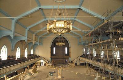 Renovations continue at Universal Preservation Hall on Washington St. Ed Burke 4/14/06