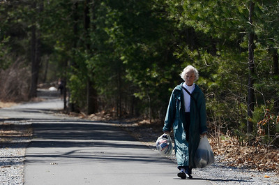 Erica Miller @togianphotog - The Saratogian:  On Friday morning, April 11th, 2014, in Saratoga Springs a lady, who wished to stay anonymous, walked the trail on Railroad Run behind the Saratoga YMCA.
