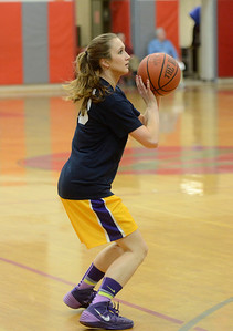 Ed Burke - The Saratogian 03/11/14 Big Ten's Mary Pattison of Troy sets for an outside attempt during Tuesday's Exceptional Senior Basketball matchup at Niskayuna.