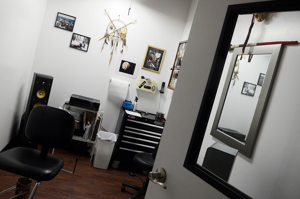 . Erica Miller - The Saratogian  Needlewurks has moved their location to West Circular into the front space of the warehouse, near Price Chopper. The new location made for a much needed upgrade of space for all their tattoo artist and piercing personnel.SAR-l-NeedleWurks5
