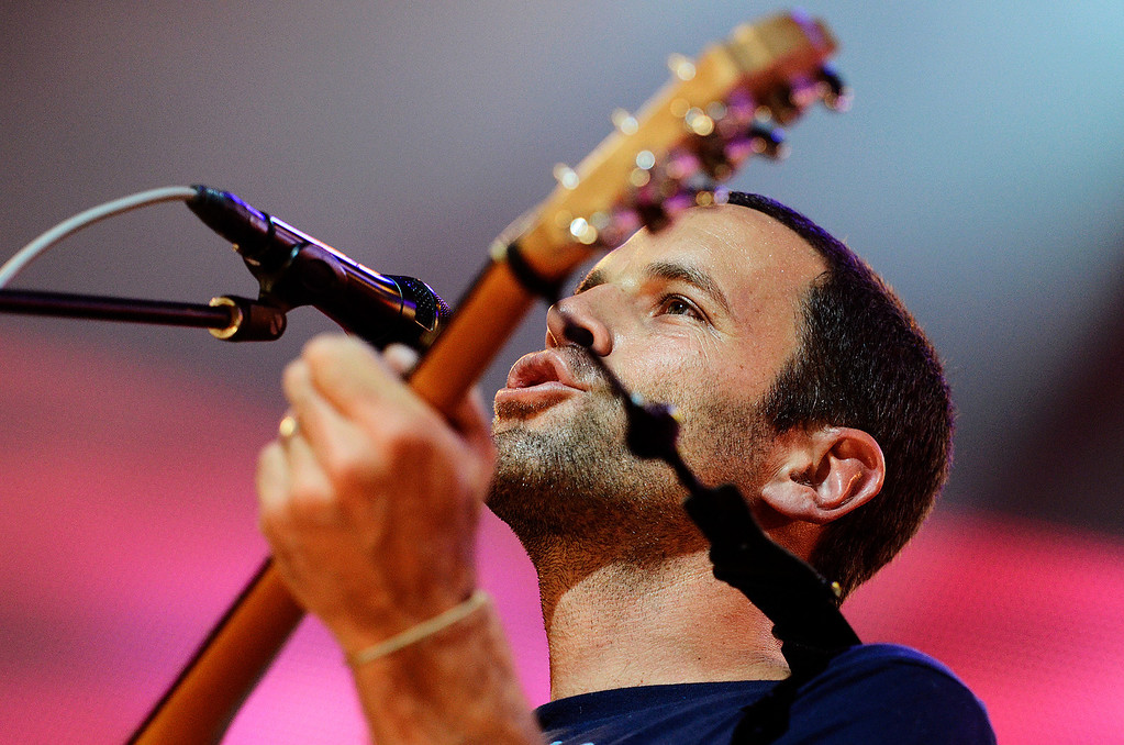 . Erica Miller - The Saratogian Jack Johnson, from Hawaii, performed at the Farm Aid 2013 in Saratoga Springs on Sept. 21, 2013 at Saratoga Performing Arts Center.SAR-l-JackJohnson3