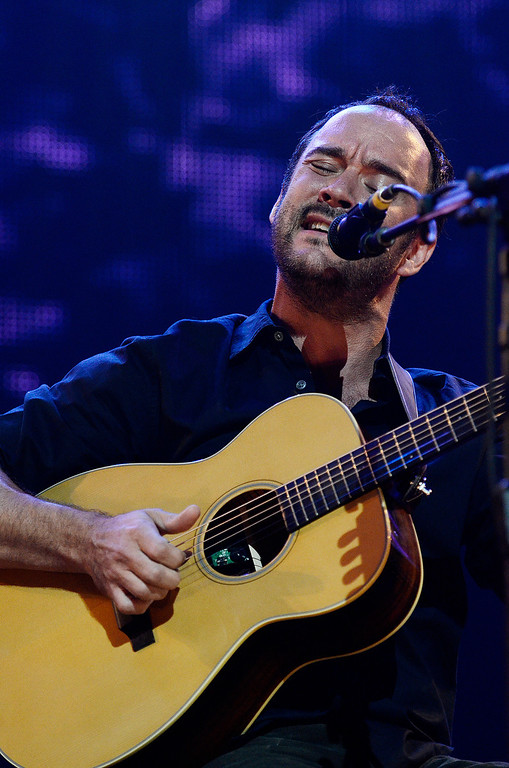 . Erica Miller - The Saratogian Dave Matthews and Tim Renoylds performed at the Farm Aid 2013 in Saratoga Springs on Sept. 21, 2013 at Saratoga Performing Arts Center.SAR-l-DaveMatthews5