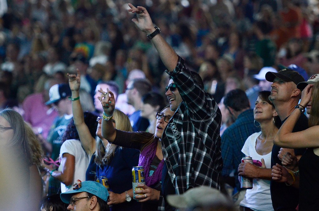 . Erica Miller - The Saratogian SPAC held the epic Farm Aid on Saturday to an audience of 25,000. The crowd was packed for the famous Neil Young, John Melloncamp, Jack Johnson, Dave Matthews, Willie Nelson and many more artists. SAR-l-PackedCrowds3
