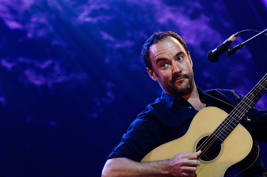 . Erica Miller - The Saratogian Dave Matthews and Tim Renoylds performed at the Farm Aid 2013 in Saratoga Springs on Sept. 21, 2013 at Saratoga Performing Arts Center.SAR-l-DaveMatthews6