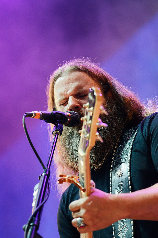 . Erica Miller - The SaratogianJamey Johnson performed at the Farm Aid 2013 in Saratoga Springs on Sept. 21, 2013 at Saratoga Performing Arts Center.SAR-l-JameyJohnson2