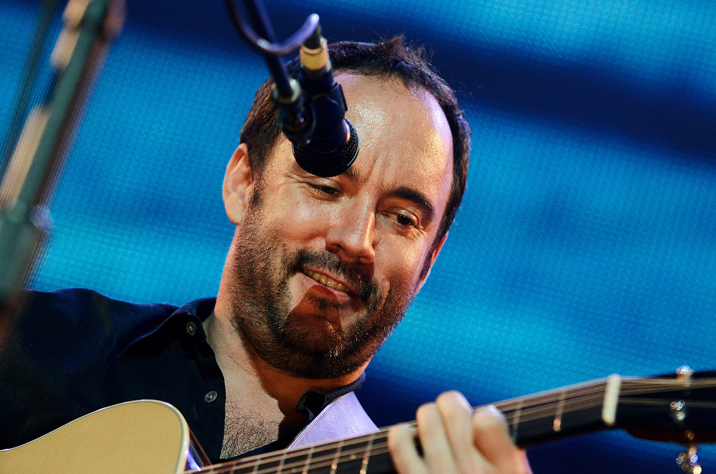 . Erica Miller - The Saratogian Dave Matthews and Tim Renoylds performed at the Farm Aid 2013 in Saratoga Springs on Sept. 21, 2013 at Saratoga Performing Arts Center.SAR-l-DaveMatthews10