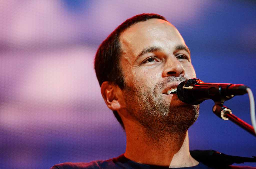 . Erica Miller - The Saratogian Jack Johnson, from Hawaii, performed at the Farm Aid 2013 in Saratoga Springs on Sept. 21, 2013 at Saratoga Performing Arts Center.SAR-l-JackJohnson5