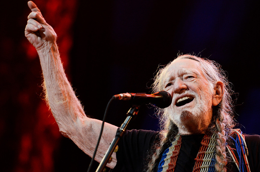 . Erica Miller - The Saratogian Famous Willie Nelson performed at the Farm Aid 2013 in Saratoga Springs on Sept. 21, 2013 at Saratoga Performing Arts Center.SAR-l-WillieNelson13