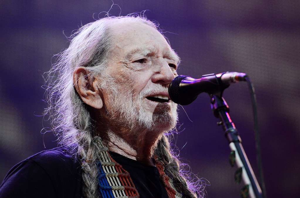 . Erica Miller - The Saratogian Famous Willie Nelson performed at the Farm Aid 2013 in Saratoga Springs on Sept. 21, 2013 at Saratoga Performing Arts Center.SAR-l-WillieNelson12