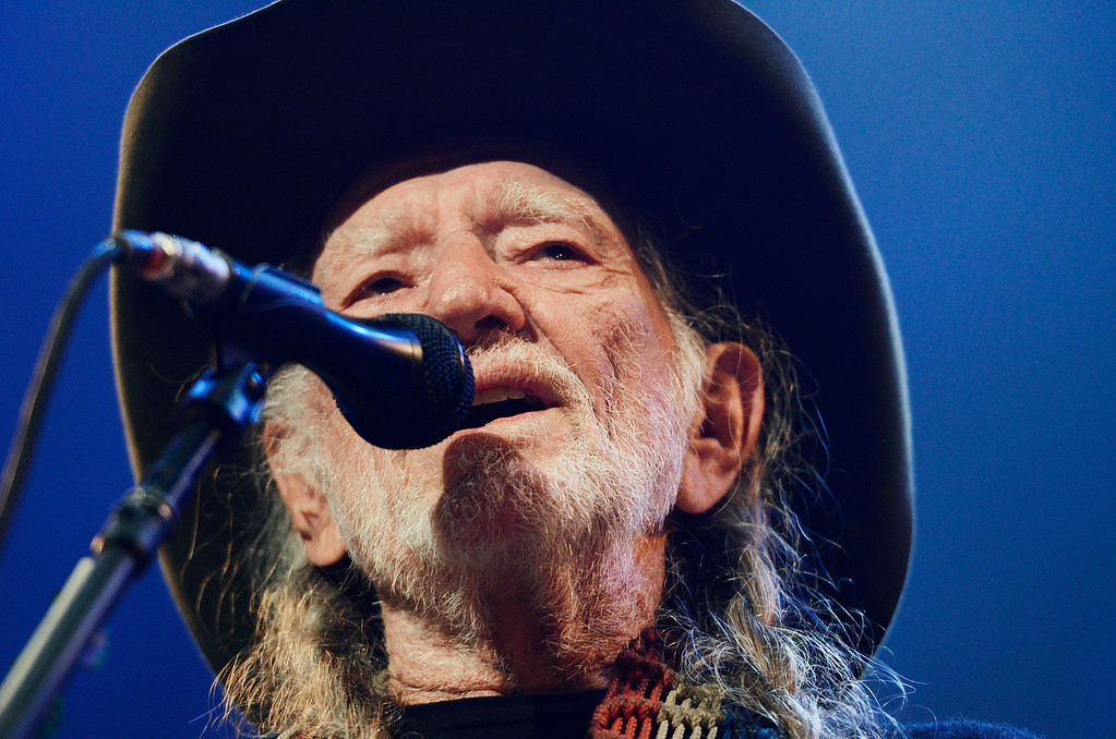. Erica Miller - The Saratogian Famous Willie Nelson performed at the Farm Aid 2013 in Saratoga Springs on Sept. 21, 2013 at Saratoga Performing Arts Center.SAR-l-WillieNelson6