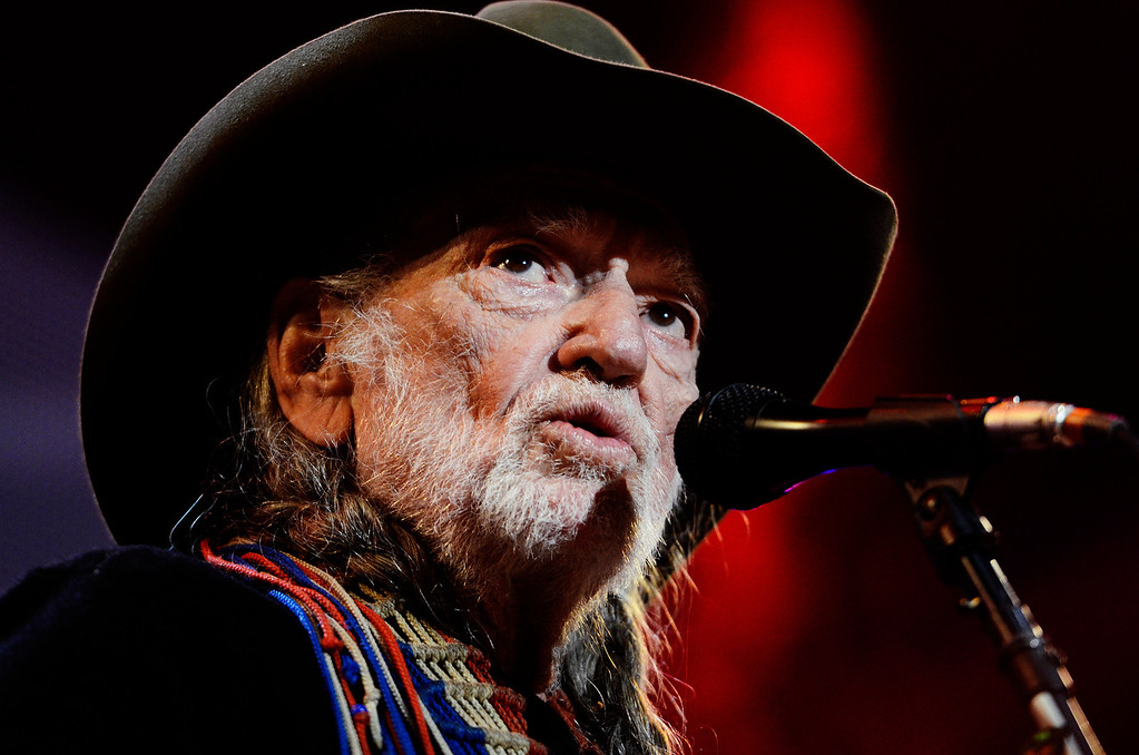 . Erica Miller - The Saratogian Famous Willie Nelson performed at the Farm Aid 2013 in Saratoga Springs on Sept. 21, 2013 at Saratoga Performing Arts Center.SAR-l-WillieNelson5
