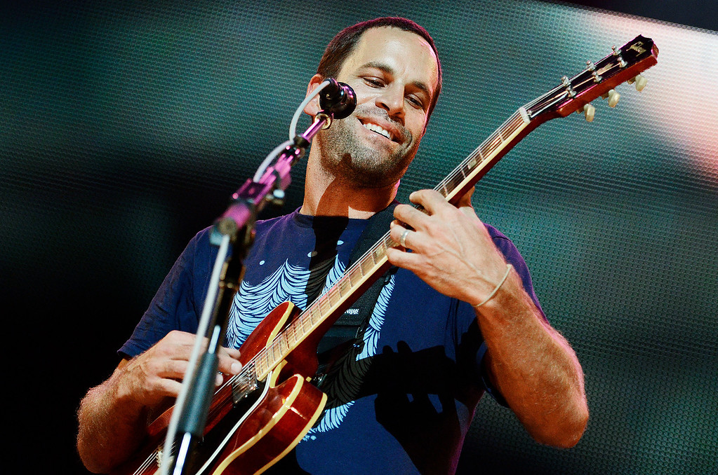 . Erica Miller - The Saratogian Jack Johnson, from Hawaii, performed at the Farm Aid 2013 in Saratoga Springs on Sept. 21, 2013 at Saratoga Performing Arts Center.SAR-l-JackJohnson8