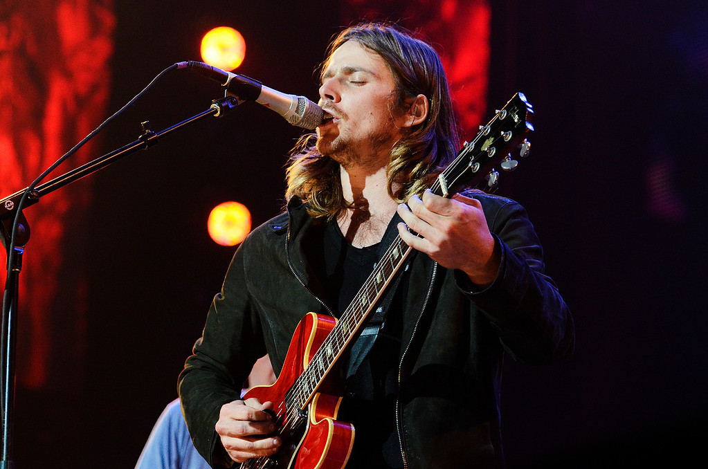 . Erica Miller - The Saratogian Jack Johnson, from Hawaii, performed at the Farm Aid 2013 in Saratoga Springs on Sept. 21, 2013 at Saratoga Performing Arts Center.SAR-l-JackJohnson13