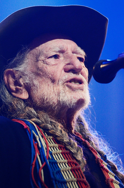 . Erica Miller - The Saratogian Famous Willie Nelson performed at the Farm Aid 2013 in Saratoga Springs on Sept. 21, 2013 at Saratoga Performing Arts Center.SAR-l-WillieNelson8