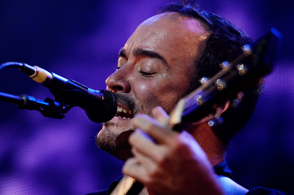 . Erica Miller - The Saratogian Dave Matthews and Tim Renoylds performed at the Farm Aid 2013 in Saratoga Springs on Sept. 21, 2013 at Saratoga Performing Arts Center.SAR-l-DaveMatthews4