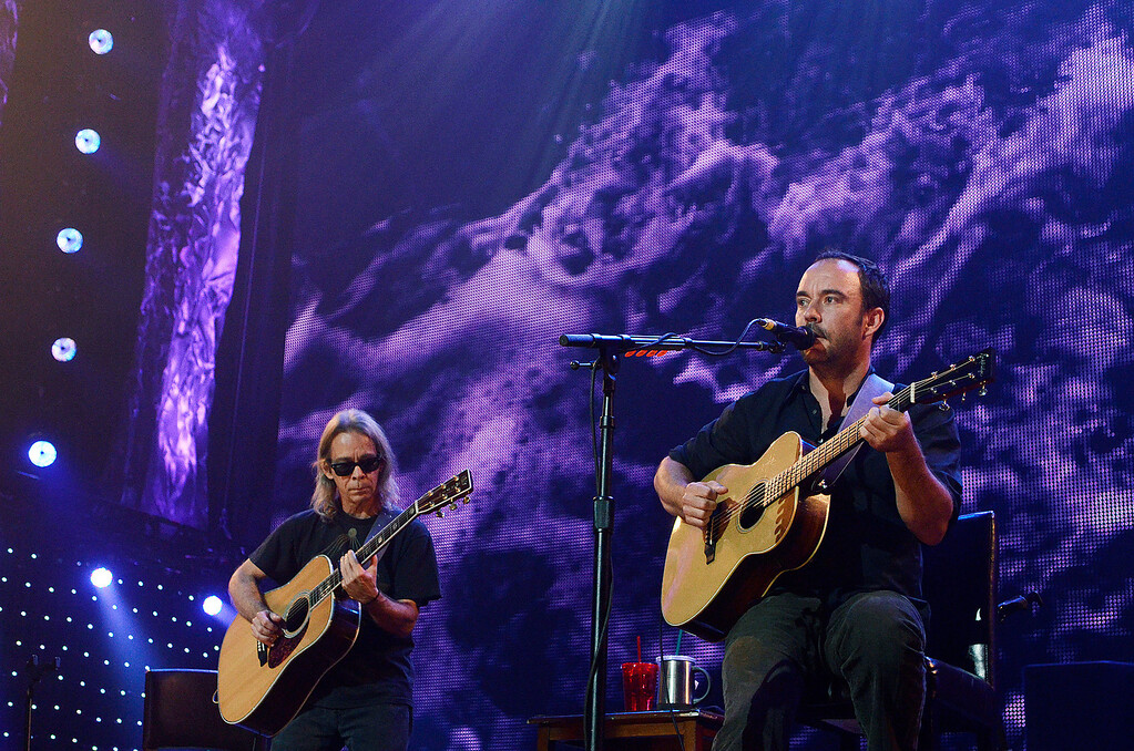 . Erica Miller - The Saratogian Dave Matthews and Tim Renoylds performed at the Farm Aid 2013 in Saratoga Springs on Sept. 21, 2013 at Saratoga Performing Arts Center.SAR-l-DaveMatthews8