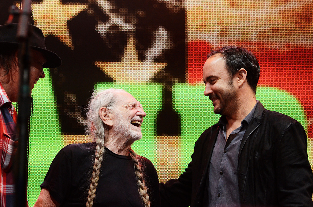 . Erica Miller - The Saratogian Famous Willie Nelson performed at the Farm Aid 2013 in Saratoga Springs on Sept. 21, 2013 at Saratoga Performing Arts Center.SAR-l-WillieNelson21