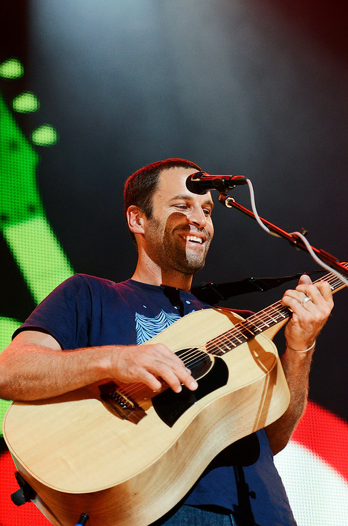 . Erica Miller - The Saratogian Jack Johnson, from Hawaii, performed at the Farm Aid 2013 in Saratoga Springs on Sept. 21, 2013 at Saratoga Performing Arts Center.SAR-l-JackJohnson6
