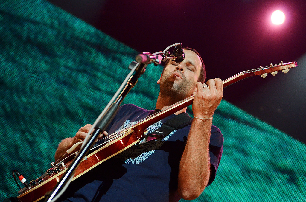 . Erica Miller - The Saratogian Jack Johnson, from Hawaii, performed at the Farm Aid 2013 in Saratoga Springs on Sept. 21, 2013 at Saratoga Performing Arts Center.SAR-l-JackJohnson7