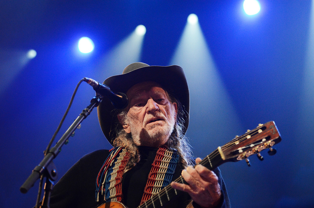 . Erica Miller - The Saratogian Famous Willie Nelson performed at the Farm Aid 2013 in Saratoga Springs on Sept. 21, 2013 at Saratoga Performing Arts Center.SAR-l-WillieNelson7