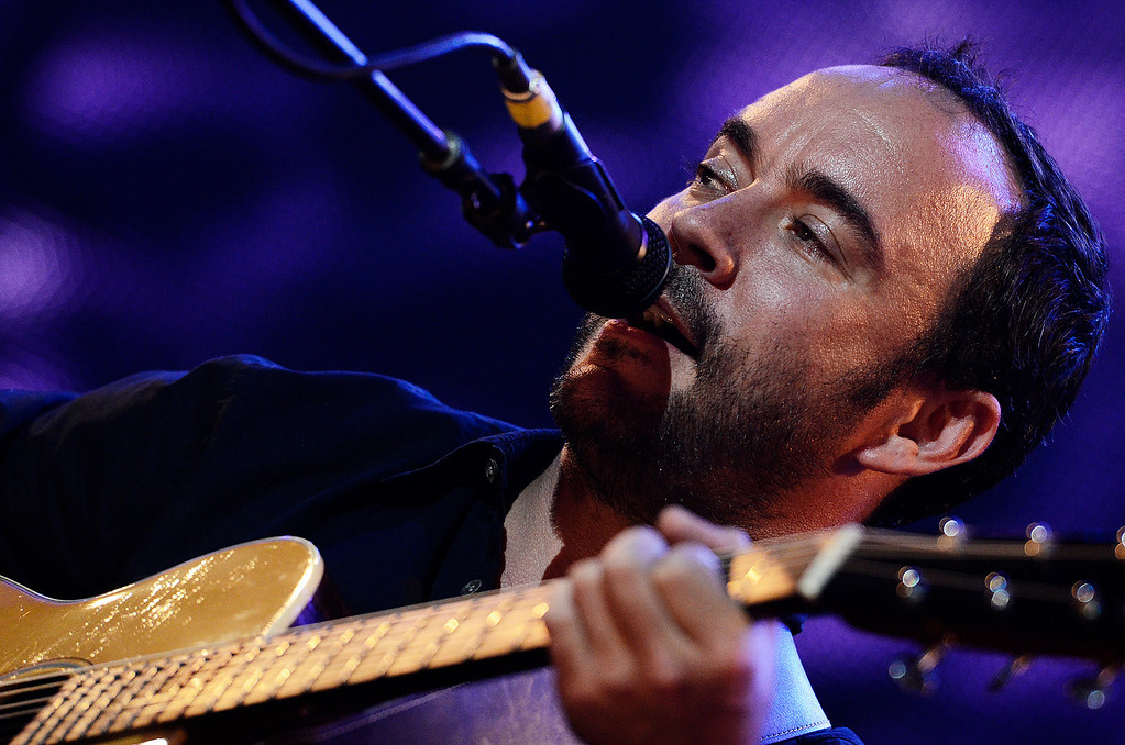 . Erica Miller - The Saratogian Dave Matthews and Tim Renoylds performed at the Farm Aid 2013 in Saratoga Springs on Sept. 21, 2013 at Saratoga Performing Arts Center.SAR-l-DaveMatthews3