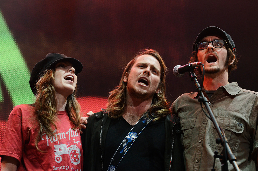 . Erica Miller - The Saratogian Famous Willie Nelson performed at the Farm Aid 2013 in Saratoga Springs on Sept. 21, 2013 at Saratoga Performing Arts Center.SAR-l-WillieNelson20