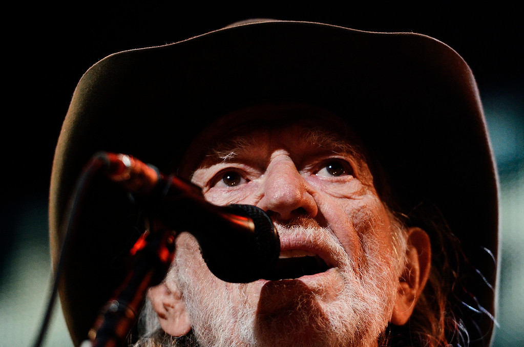 . Erica Miller - The Saratogian Famous Willie Nelson performed at the Farm Aid 2013 in Saratoga Springs on Sept. 21, 2013 at Saratoga Performing Arts Center.SAR-l-WillieNelson3