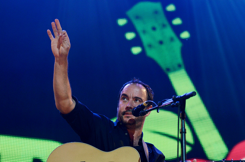 . Erica Miller - The Saratogian Dave Matthews and Tim Renoylds performed at the Farm Aid 2013 in Saratoga Springs on Sept. 21, 2013 at Saratoga Performing Arts Center.SAR-l-DaveMatthews9