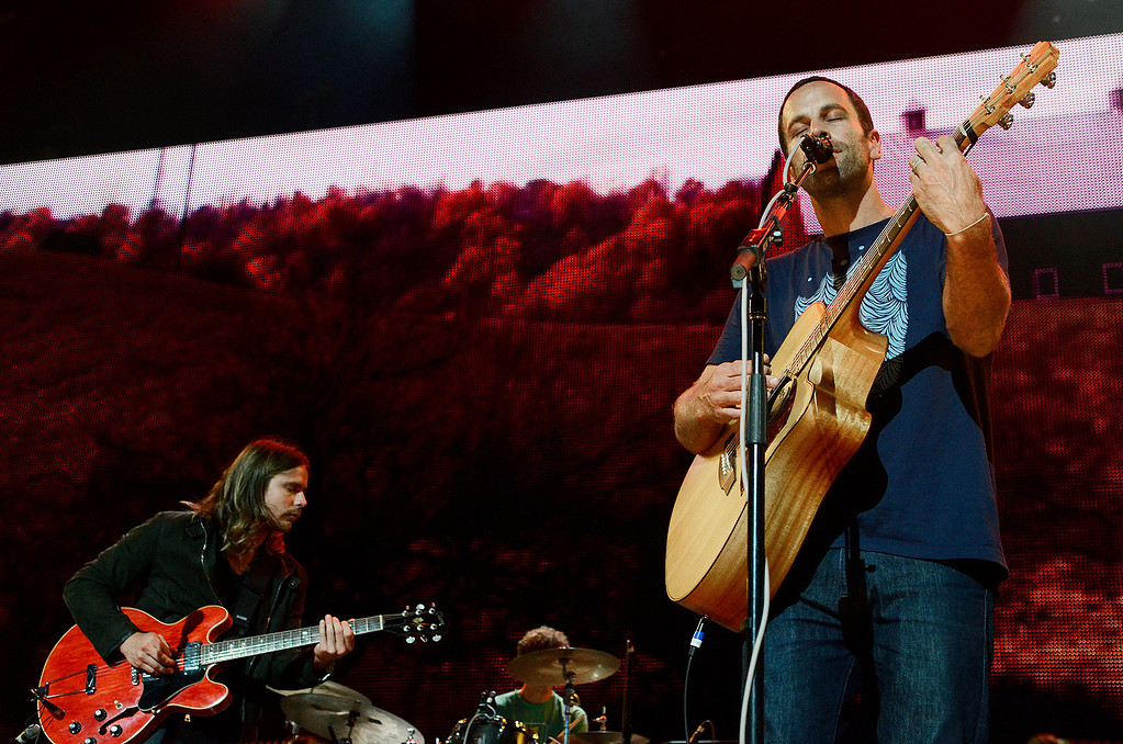 . Erica Miller - The Saratogian Jack Johnson, from Hawaii, performed at the Farm Aid 2013 in Saratoga Springs on Sept. 21, 2013 at Saratoga Performing Arts Center.SAR-l-JackJohnson11