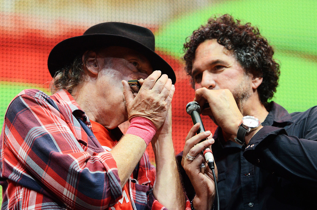 . Erica Miller - The Saratogian Famous Willie Nelson performed at the Farm Aid 2013 in Saratoga Springs on Sept. 21, 2013 at Saratoga Performing Arts Center.SAR-l-WillieNelson19